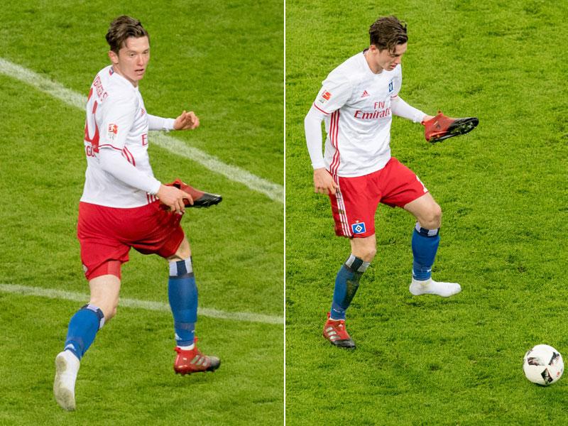 Gregoritsch schuhlos (Quelle: Kicker.de)